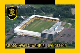 CP.STADE.  LIVINGSTON  ECOSSE  ALMONVALE  STADIUM  #  CS. 1264 - Calcio