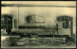 Cpa  Locomotive Est 220 N° 834,   Beau Plan - Equipment