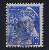LIBÉRATION De ANGOULEME (CHARENTE) : TIMBRE MERCURE N° 546 SURCHARGÉ RF Avec CAD Et GOMME SANS CHARNIÈRE - Liberazione