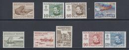 1973/74 *Greenland **/MNH    Mi. 83//91  Yv 71/9  (9v) - Komplette Jahrgänge