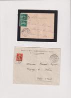 ALGERIE-Marcophilie-LOT 2 LS  RIO-SALADO 16/8/1911-ORAN-ST. EUGENE-ORAN 17/9/1913 - Africa (Other)
