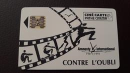 CINECARTE PATHÉ CINEMA N° 70 -  AMNESTY Contre L'OUBLI 1961-1991 Libération Europe-  - LUXE- NEUVE? - Entradas De Cine