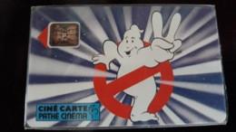 """CINECARTE PATHE CINEMA N° 10 - """" SOS FANTOMES/GHOSTBUSTERS """" LUXE..NEUVE ? - Entradas De Cine"""