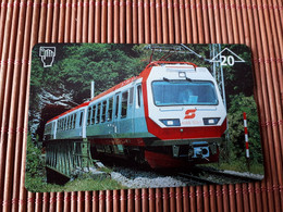 Phonecard  Private Train 608 L Used Rare - Trenes