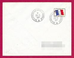 Enveloppe Datée De 1971 - Marine Nationale - Centre Des Sous-Marins De L'Île Longue Dans Le Finistère - Militaire Stempels Vanaf 1900 (buiten De Oorlog)
