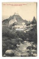 Unter-Engadin - Schloss Tarasp Und Fontana - Old Switzerland Postcard - GR Grisons