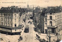 Belgique - Bruxelles - Saint-Gilles - Chaussée De Waterloo - Tram N° 9 - St-Gilles - St-Gillis