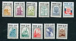 RUSSIE/RUSSIA/RUSSLAND/ROSJA 1999 MI.764-74A** ,ZAG.407II-417II - Unused Stamps