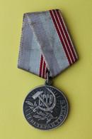 "Medal ""Veteran Of Labour"" 2 - Rusia"
