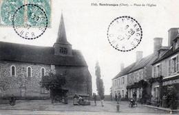 Santranges. Place De L'Eglise. - Other Municipalities