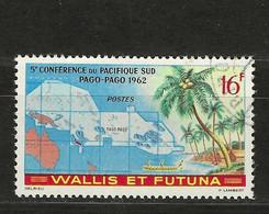 WALLIS  FUTUNA Nº 161 USADO - Used Stamps