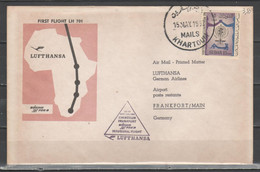 Sudan 1962 - Primo Volo Lufthansa Khartoum-Frankfurt            (g7344) - Sudan (1954-...)
