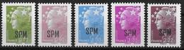 SAINT PIERRE ET MIQUELON - ANNEE 2010 - N° 967 A 971 - NEUF** - Neufs