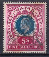 NATAL - YVERT N°70 OBLITERE - COTE = 18 EUROS - - Natal (1857-1909)