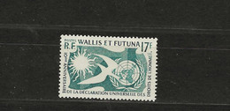 WALLIS  FUTUNA Nº 160 - Unused Stamps
