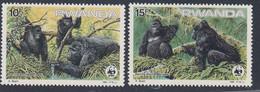 RWANDA - Faune, Gorilles - Mi 1292-1295 - MNH - 1985 - 1980-89: Neufs