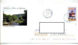 Pap Pigeonnier Cachet Moissac Illustré Gorges Aveyron - Prêts-à-poster: Other (1995-...)