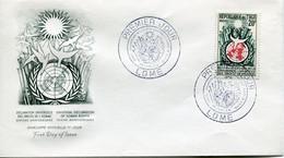 FDC TOGO 1958 Déclaration Universelle Des Droits De L'homme. -  FDC 1958 Yvert 275 - Kameroen (1960-...)
