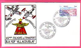 France 1981 - Portes Ouvertes BA107 - Velizy-Villacoublay - 65 Escadre De Transport - VENDOME RAMBOUILLET PA 54  Mirages - Air Post