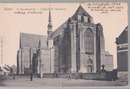 GEEL. St.Dimphna Kerk   Zie  Scans. - Geel
