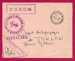 """Enveloppe Datée De 1968 - Marine Nationale - Oblitération """"Brest - Laninon - Marine - Nord Finistère"""" - Militärstempel Ab 1900 (ausser Kriegszeiten)"""