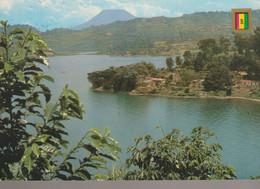 C. P. - RWANDA - LE LAC KIVU A KIGUFI - LE VOLCAN NYRAGONGO - FISA - - Rwanda