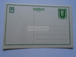 D177090 Czechoslovakia  -Postal Stationery - Entier -1925  - 75th Anniv President Masaryk 50 H - Postcard - Postales
