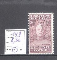 Congo Belge N° 149 Oblitéré Cote COB: 8,30 € - 1923-44: Oblitérés