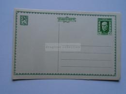D177091 Czechoslovakia  -Postal Stationery - Entier -1925  - 75th Anniv President Masaryk 50 H - Postcard - Postales