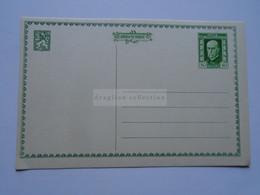 D177092 Czechoslovakia  -Postal Stationery - Entier -1925  - 75th Anniv President Masaryk 50 H - Postcard - Postales