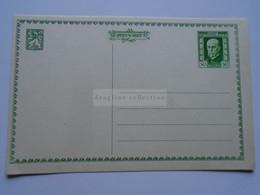 D177093 Czechoslovakia  -Postal Stationery - Entier -1925  - 75th Anniv President Masaryk 50 H - Postcard - Postales