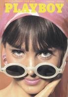 Double Carte Couverture Playboy Juin 1965 (Carte Vierge) - Pin-Ups