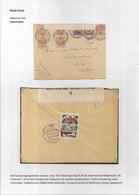 BRIEFOMSLAG VAN DE LEGERPOSTERIJEN NR.4-19.VI.1916 NAAR HULST  AANKOMST 8.VII.16 -SLUITZEGEL COPENHAGUE-DUBBELCENSUUR - Otros Cartas
