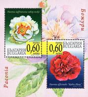 Bulgaria - 2010 - Peonies - Mint Souvenir Sheet - Nuevos