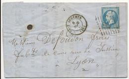 EURE LAC 1862 PONT AUDEMER FACTURE PLUMER & FILS TANNEURS CUIRS A PONT AUDEMER - 1849-1876: Periodo Clásico
