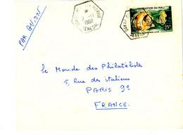 SENEGAL PRESENCE FRANCAISE DAKAR BEL AIR MARINE AGENCE MILITAIRE FRANCAISE SUR TIMBRE DU MALI LETTRE AVION - 1921-1960: Periodo Moderno