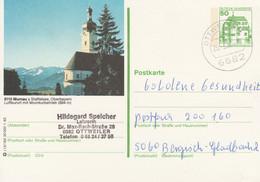West Duitsland 1982, Murnau Am Staffelsee, Kerk - Postales Ilustrados - Usados