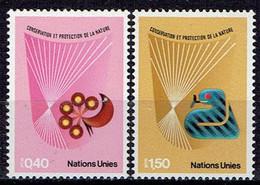 UN Genf - Mi-Nr 109/110 Postfrisch / MNH ** (C958) - Nuevos