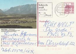 West Duitsland 1984, Piding, Oberbayern, Luftkurort - Postales Ilustrados - Usados