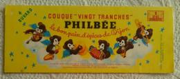 Lot De 2 Buvard PUB COUQUE DE BOURGOGNE PHILBEE PAIN D'EPICES DE DIJON ILLUSTRATEUR POINT JEU OURSON OURS - Gingerbread