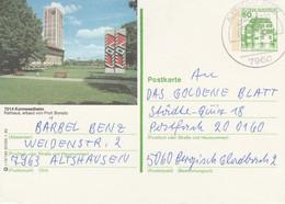 West Duitsland 1982, Kornwestheim, Raadhuis, Architect Prof. Bonatz - Postales Ilustrados - Usados