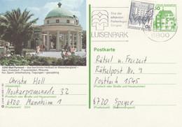 West Duitsland 1982, Bad Pyrmont, Heilbad, Rheuma - Postales Ilustrados - Usados