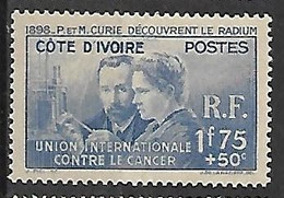 COTE D'IVOIRE N°140 N* - Nuovi