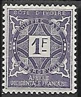 COTE D'IVOIRE TAXE N°16 N* - Nuovi