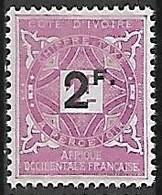 COTE D'IVOIRE TAXE N°17 N** - Nuovi