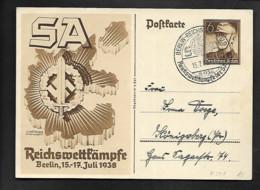 DR GA SA Reichswettkömpfe SSt Berlin - Militaria
