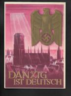 DR GA Danzig Ist Deutsch - Militaria