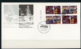 Canada FDC 1978 Natural Resources - Cartas