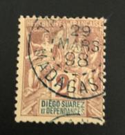 DIEGO SUAREZ 1892 - YT 26 Belle Oblitération - Used Stamps