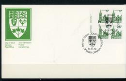 Canada FDC 1979 Parliament Buildings - Cartas